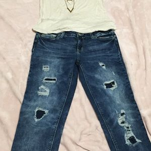 Maurices Skinny Jeans. Size 3/4